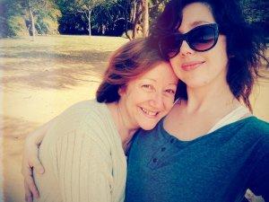 Mom & me, 2014.